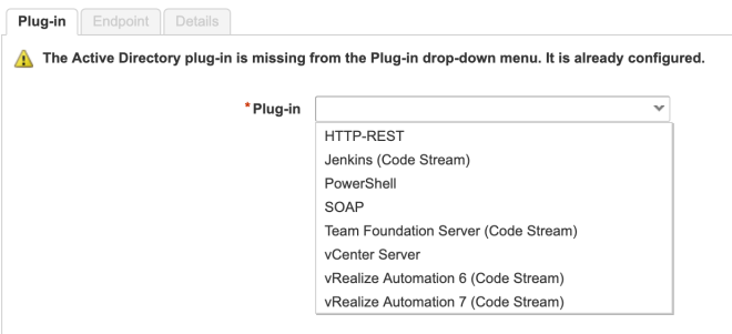 AD Plugin Configured